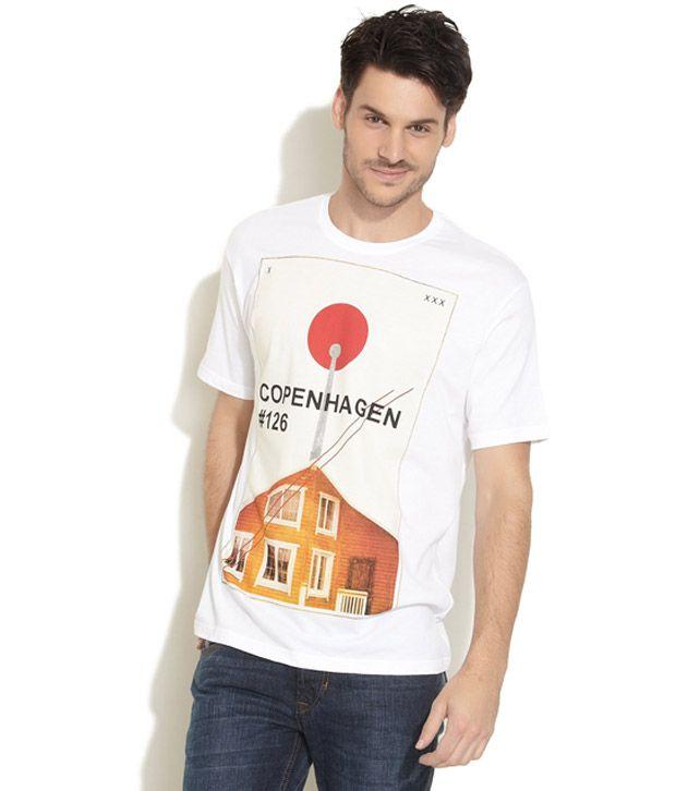 Obidos Smart White T Shirt