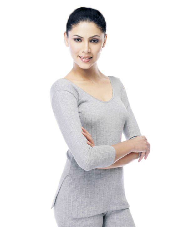 19670c310 Buy Neva Grey Cotton Thermal Top Online at Best Prices in India - Snapdeal