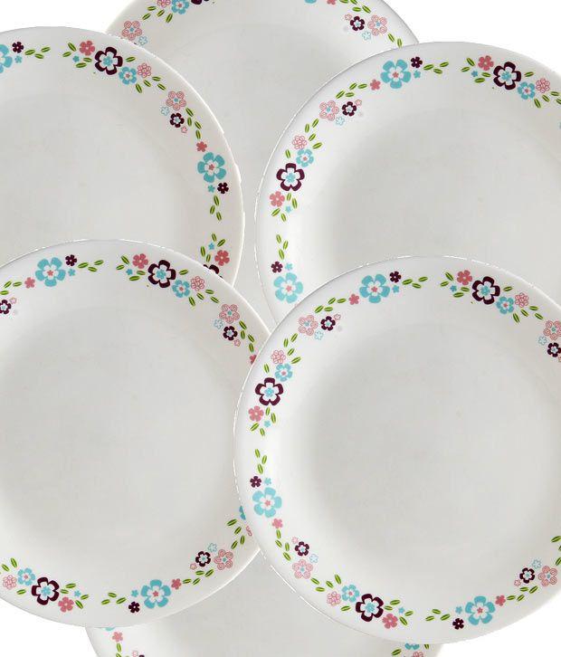 Corelle 21 Pcs Dinner Set Florets Buy Online at Best Price in