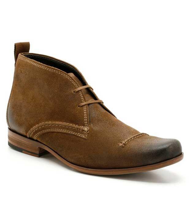 Clarks Goto Hi Cola Ankle Length Boots