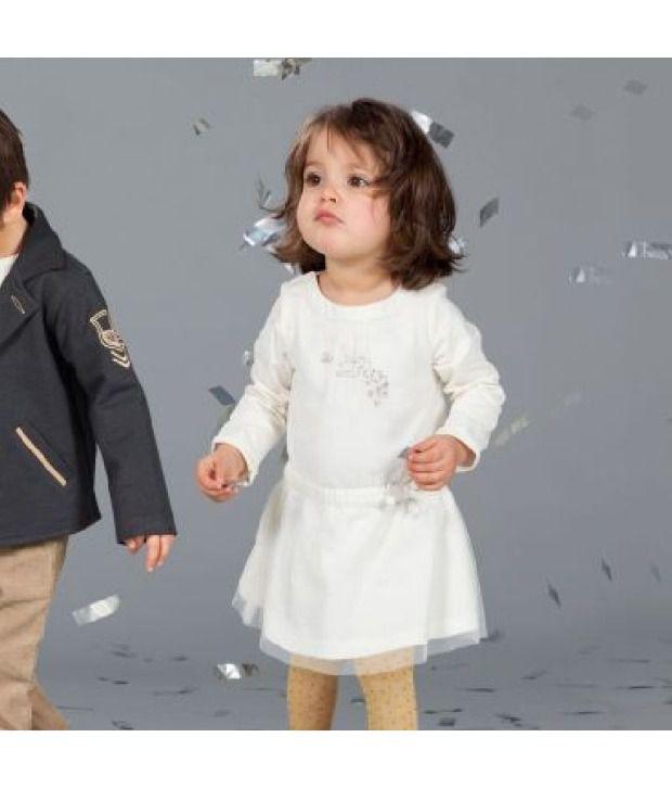 Shoppertree White fairy Dress For Kids