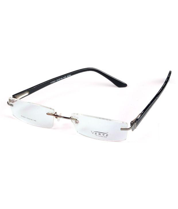 Verve Enchanting Frameless Unisex Eyeglasses - Buy Verve ...