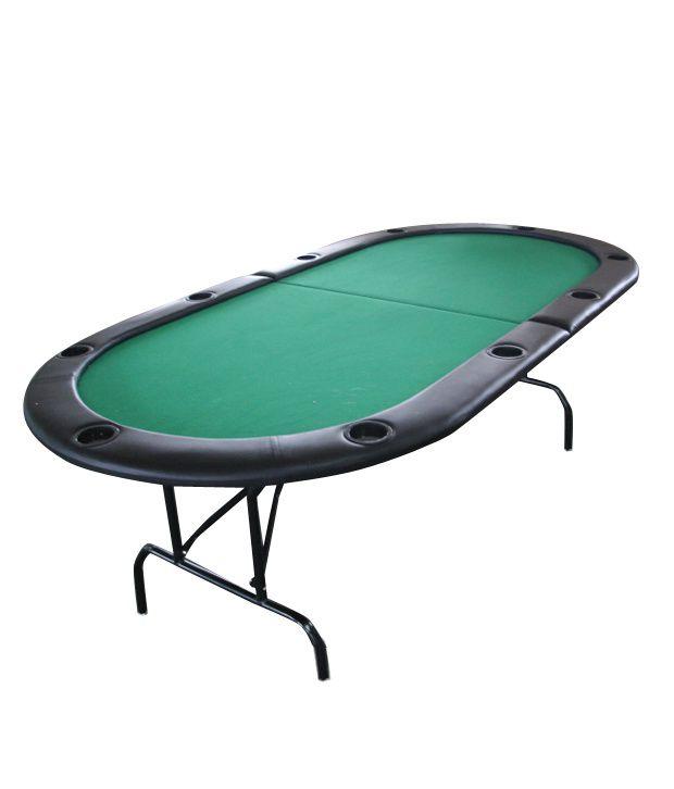 Casinoite - Full Fold Oval Poker Table