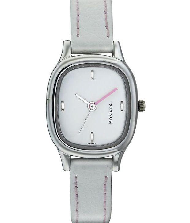 7b988081 Sonata 8060SL02 Women's Watch Price in India: Buy Sonata 8060SL02 Women's  Watch Online at Snapdeal