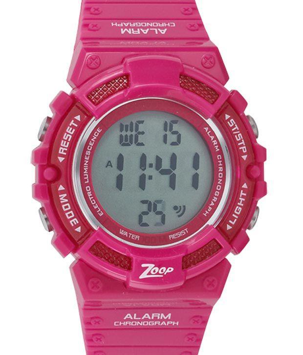 7d84336b546 Zoop C4040PP01 Kid s Watch Price in India  Buy Zoop C4040PP01 Kid s Watch  Online at Snapdeal