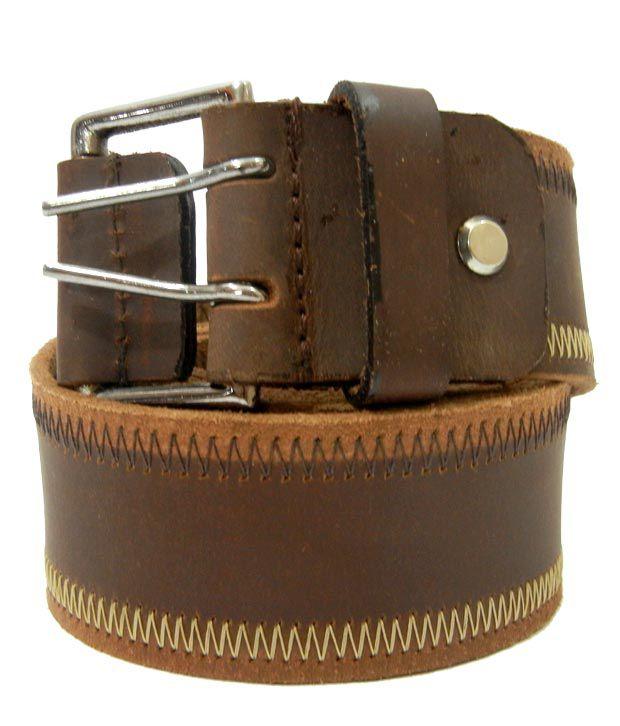 Aalia Fashionable Brown Belt