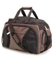 President Brown & Black Duffle Bag