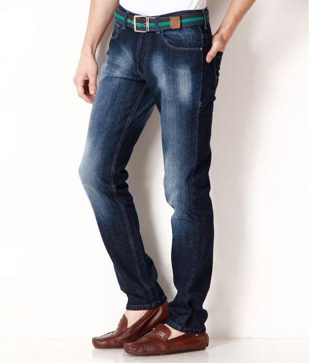 Newport Smart Dark Blue-Rinse Jeans