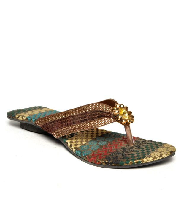 FNB-Nell Ethnic Copper Flats