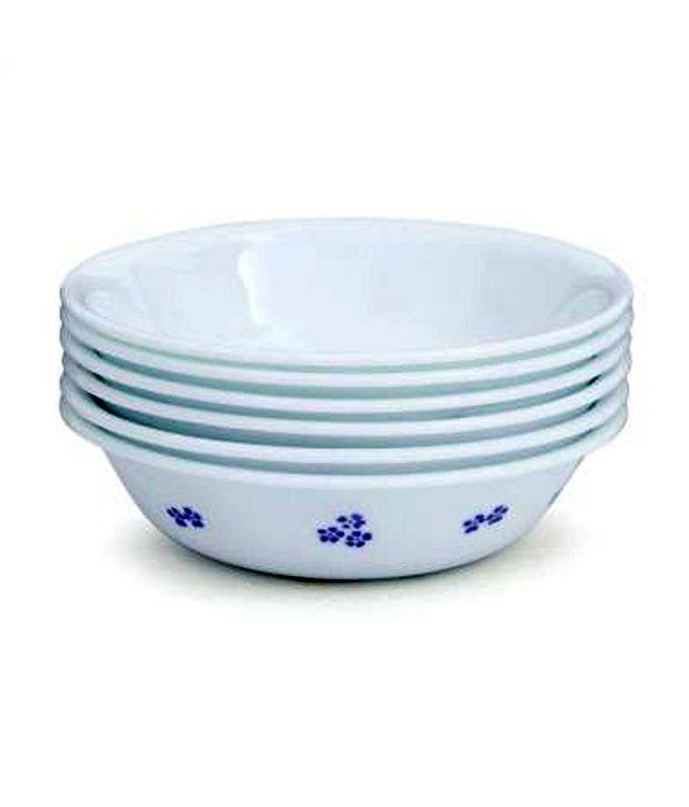 Corelle Secret Garden Cereal Soup Bowl Set 6 Pieces Buy Online