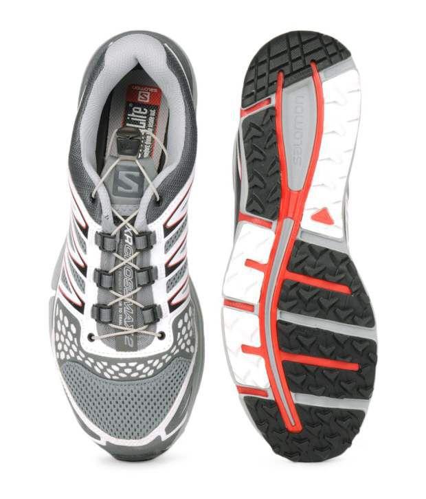 plus récent 83440 456a2 Salomon XR Crossmax 2 Pearl Grey Running Shoes