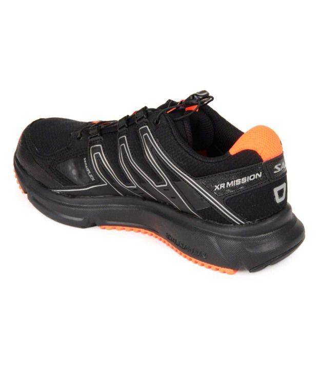 magasin en ligne ffa55 af2b0 Salomon XR Mission CS Black Running Shoes