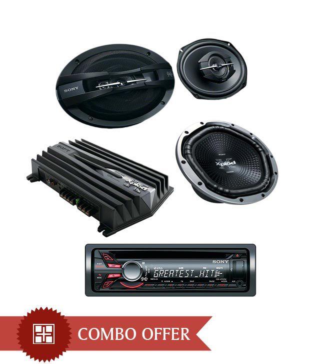 Sony -CDX GT525U Car Stereo + XS GTX1212L Subwoofer + XS
