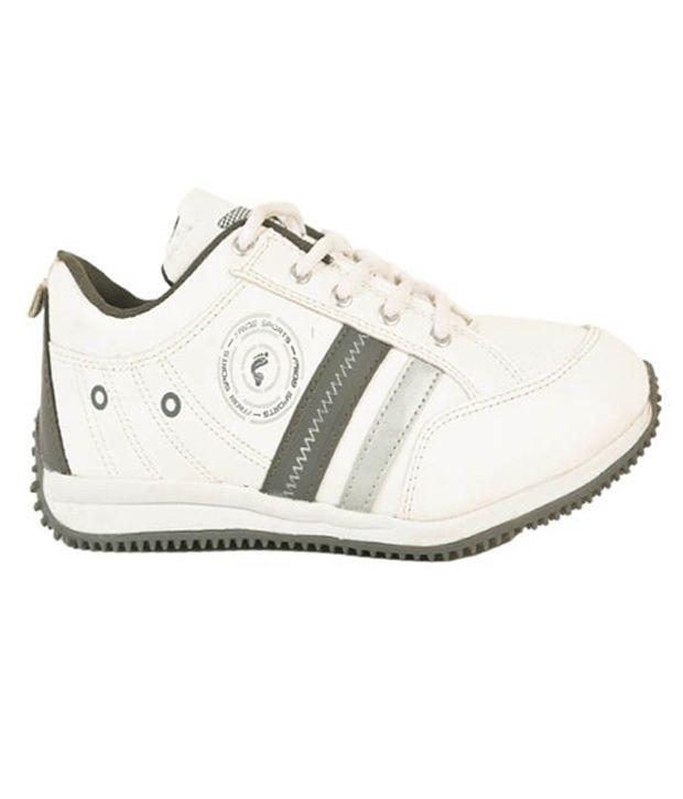 Frido White Aqua15 Sport Shoes