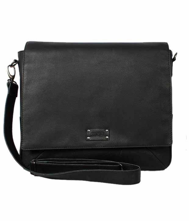 Brune Men Black Office Bag - Buy Brune Men Black Office Bag Online ...