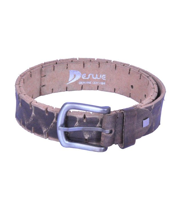 Deswe - Chase 3 Side Cut Leather Belt