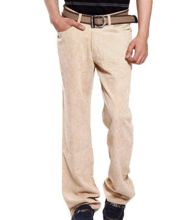 Fever Beige Corduroy Jeans