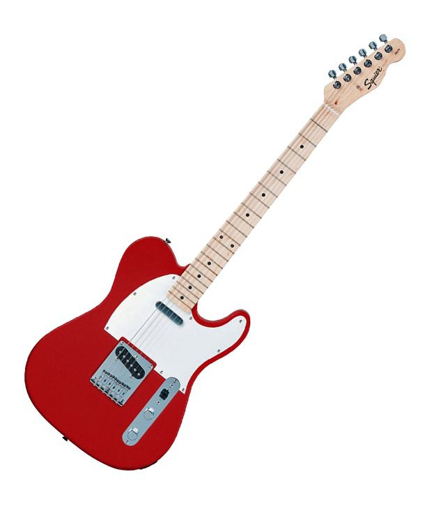squier by fender affinity telecaster electric guitar maple fret board metallic red freebie. Black Bedroom Furniture Sets. Home Design Ideas
