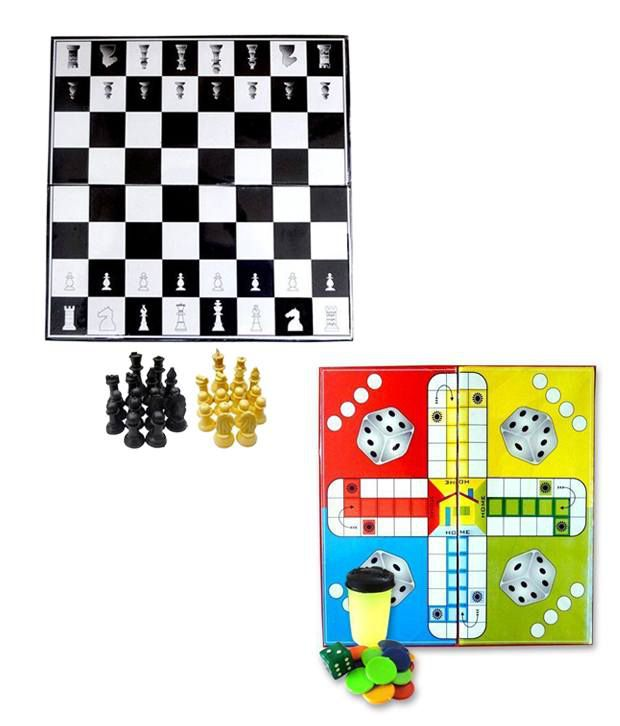 Liana Chess with Shadow with Ludo (12 Inch)