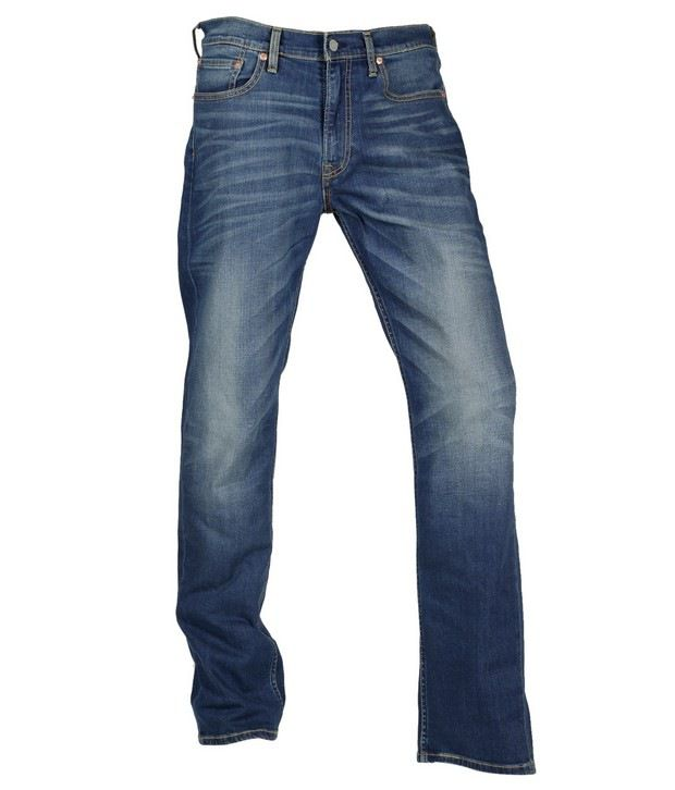 Levis Blue Faded Jeans