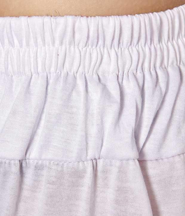 8709427f2c Adam n Eve White Cotton Harem Pant Price in India - Buy Adam n Eve ...