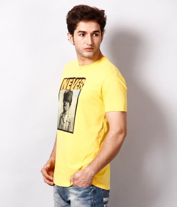 Locomotive Exclusive Yellow T Shirt