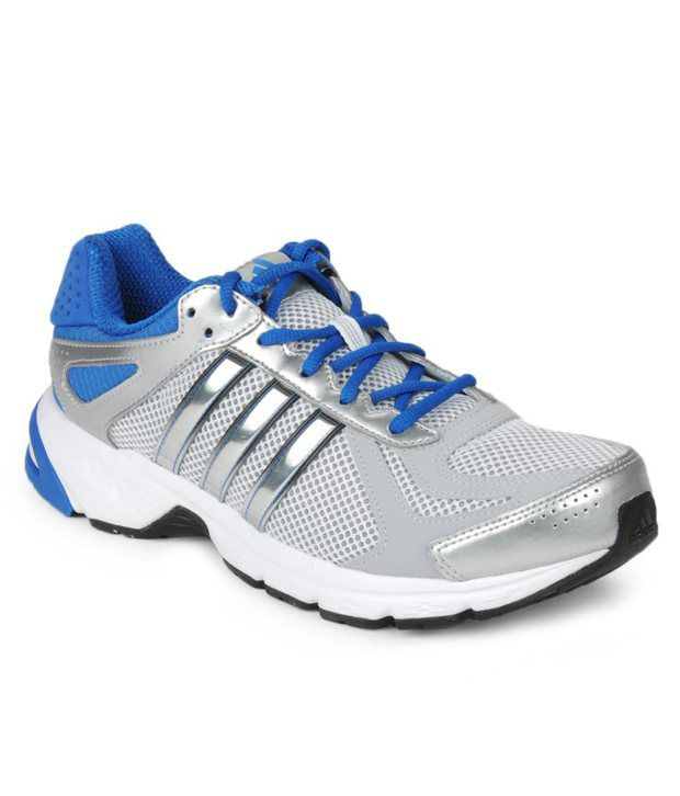 0b6b0220b2b Adidas Duramo 5 M Silver   Blue Running Shoes - Buy Adidas Duramo 5 M  Silver   Blue Running Shoes Online at Best Prices in India on Snapdeal