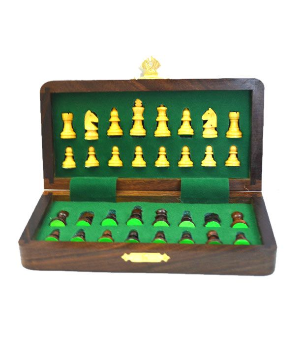 Chess n Craft Folding Magnetic Chess 7 Inch