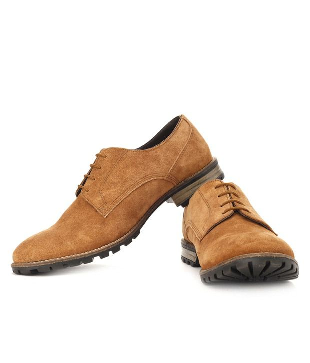 Lee Cooper Rugged Brown Casual Shoes