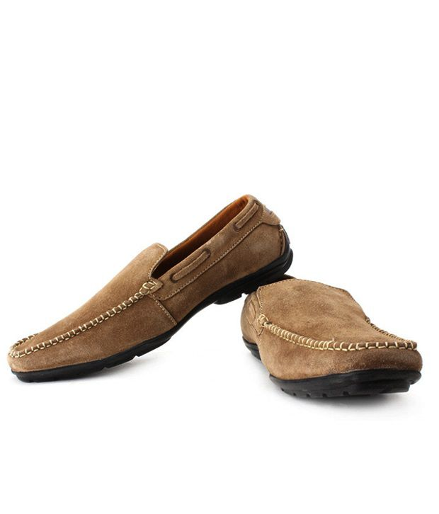Lee Cooper Brown Loafers - Buy Lee