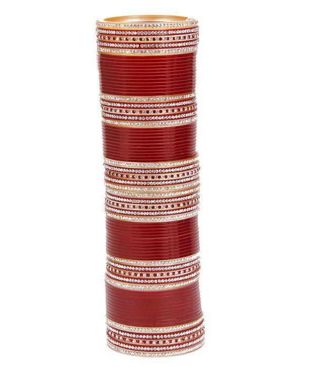 Aradhyaa Jewel Arts Ethnic Bridal   Chudas - Set Of 60