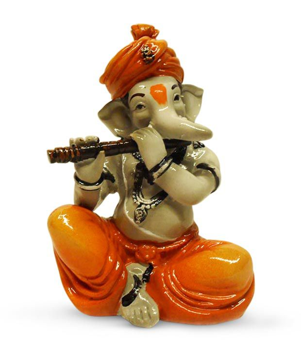 earth home decor ganesha playing flute buy earth home