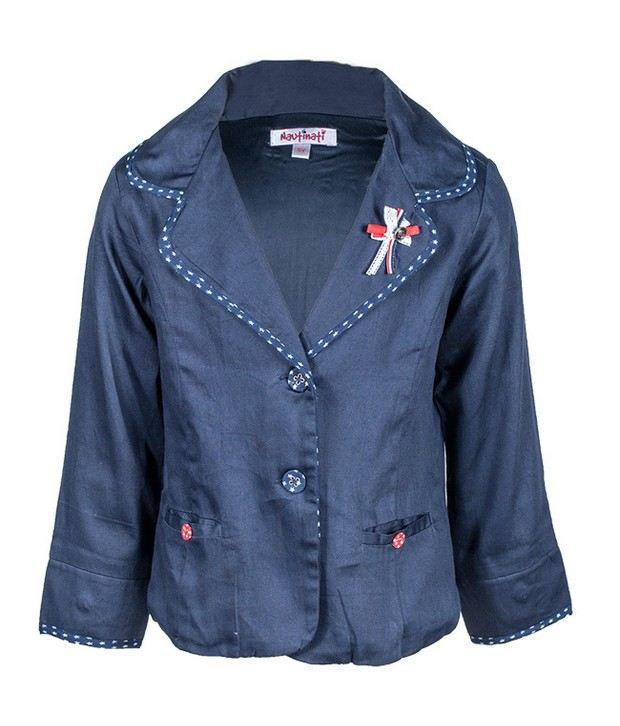 Nauti Nati Navy Jacket For Kids