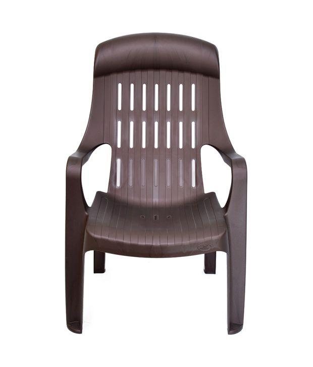 Nilkamal Weekender Garden Chair Weather Brown Buy Nilkamal