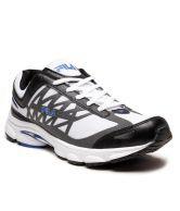 Fila White & Grey Running Shoes