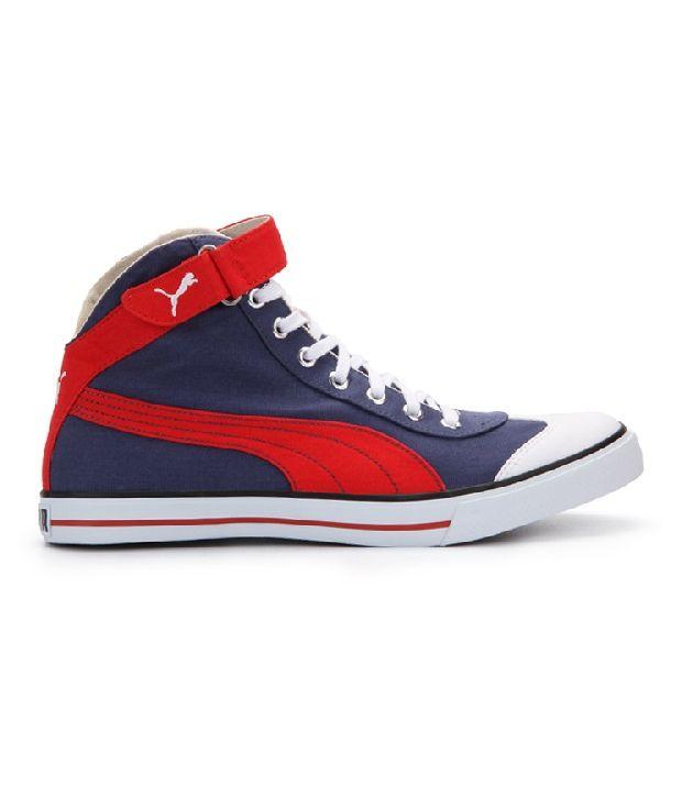 91c21cdd3ddb Puma Blue Canvas Shoes Art P35651202 Puma Blue Canvas Shoes Art P35651202  ...