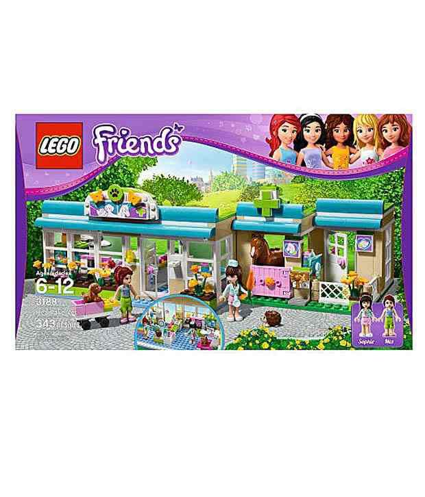 Lego Friends Heart lake Vet - 3188(Imported Toys) - Buy ...