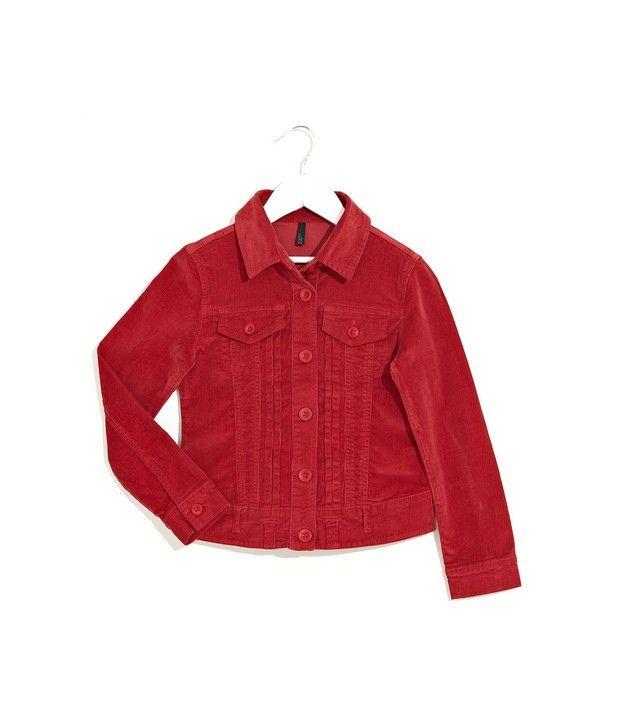 UCB Kids Funky Curduroy Jacket For Kids