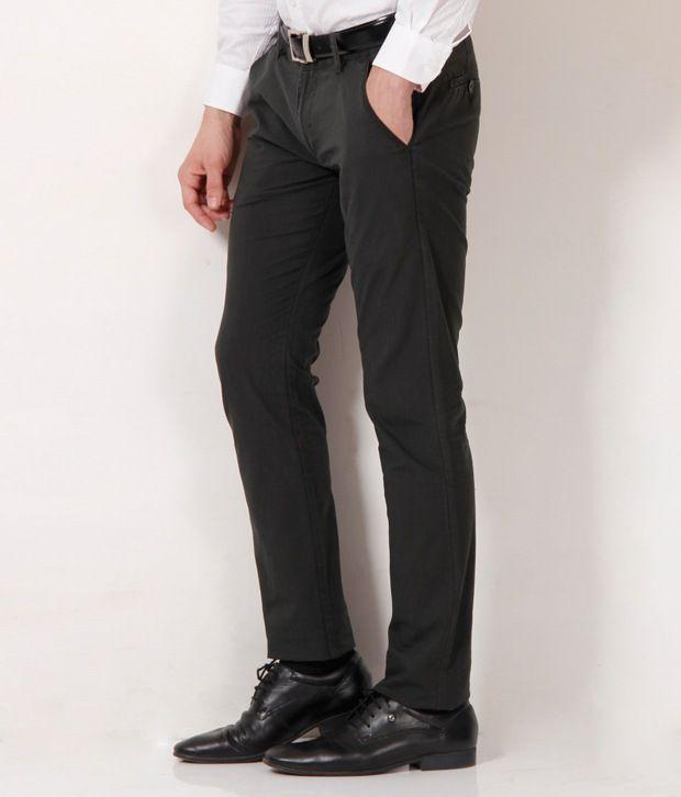 Fever Olive Green Trouser