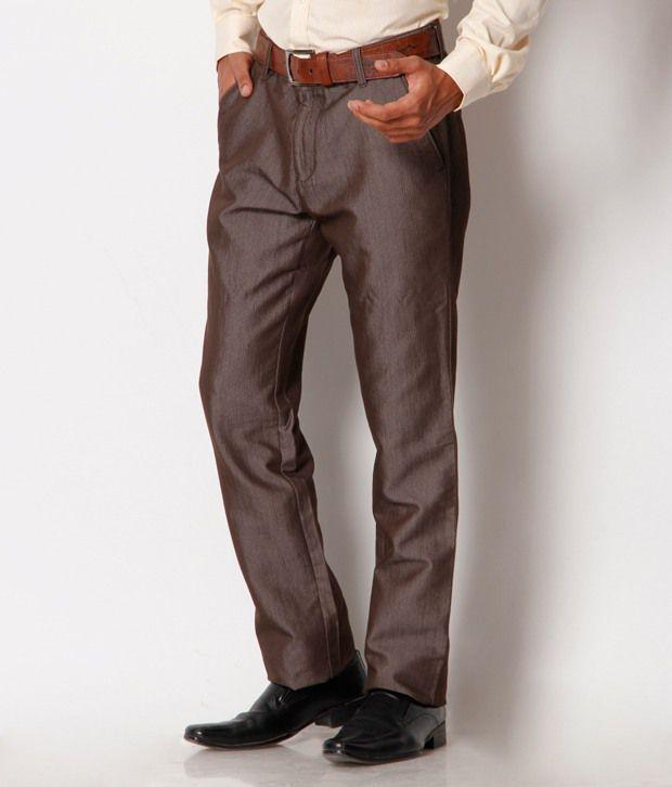 Jogur Classy Brown Trouser