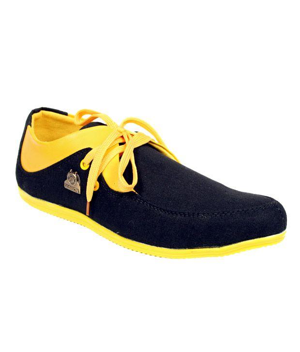 Sukun Black & Yellow Canvas