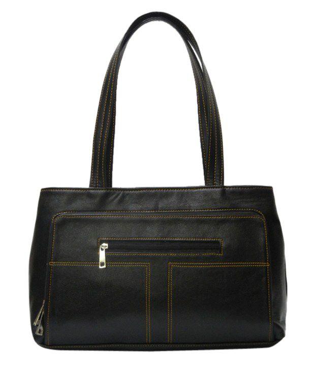 Indiana IND-214Black Satchel Bag