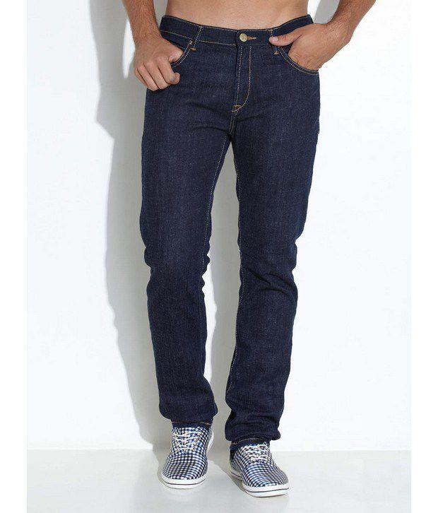 Lee Cooper Originals Dark Blue Classic Rinsed Jeans