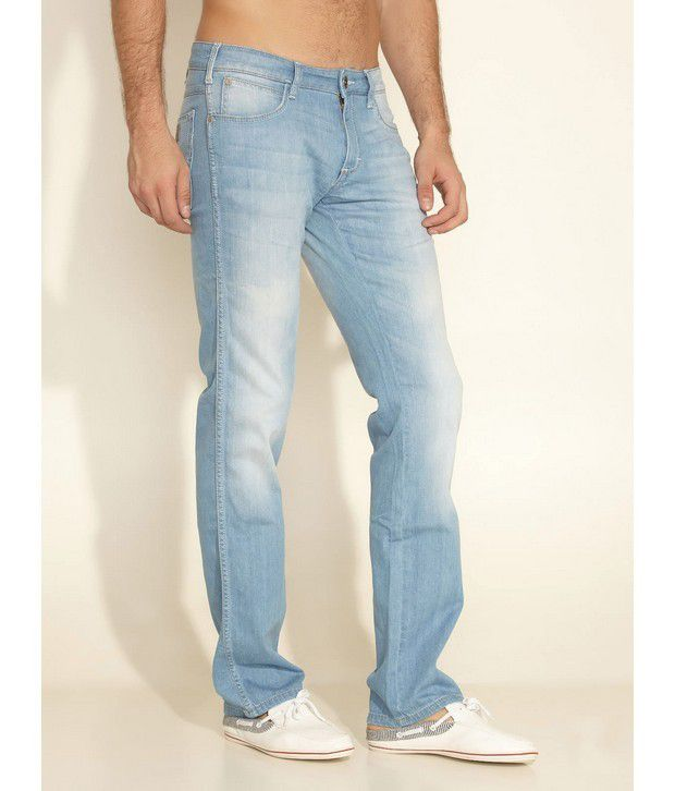 Wrangler Blue Avalanche Stretch Jeans