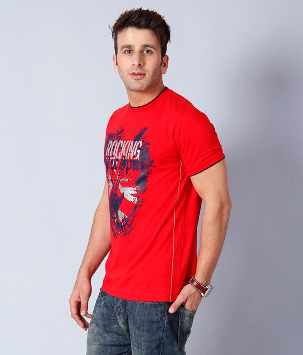 Riverstone Red T Shirt
