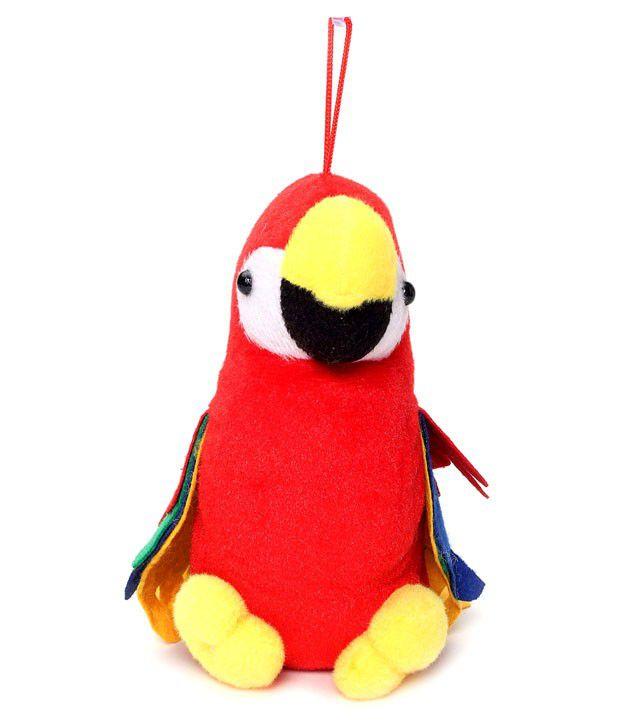 Tickles Macau Parrot   20 cm