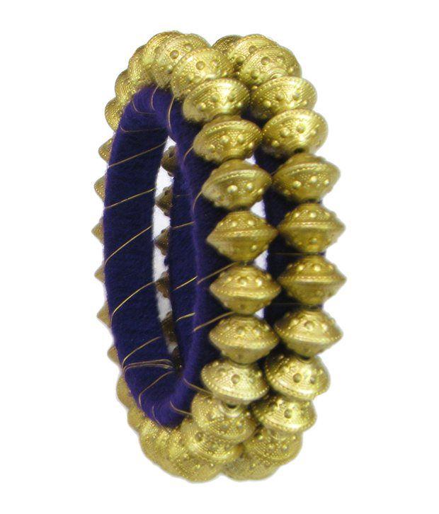Ratnakar Golden Coloured Shinny Bangles