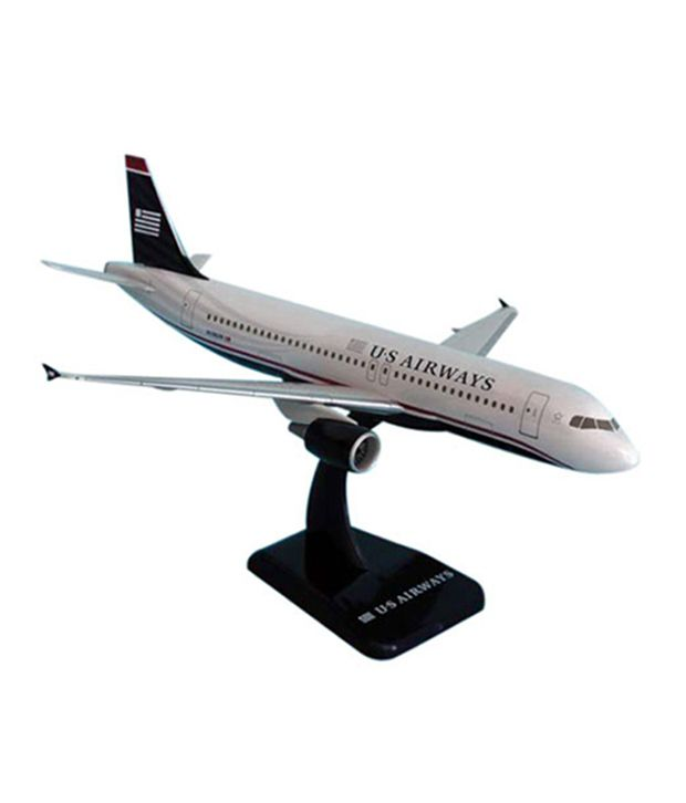 Hogan Wings Aircraft Airbus A320 US Airways N C  (with Stand & Gear)