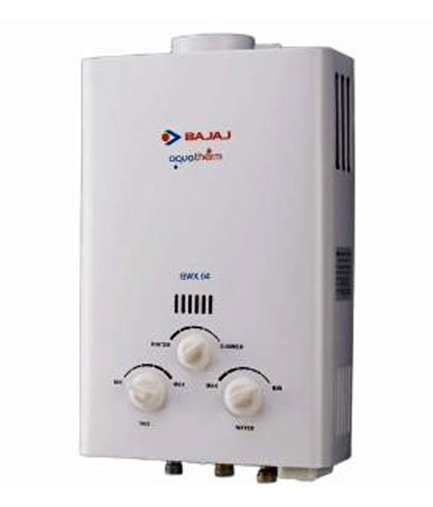 Bajaj Gas Geyser Price In India Buy Bajaj Gas Geyser