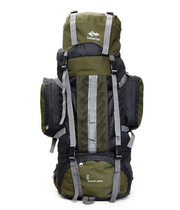 Senterlan Dark Green 75L Travel Backpack